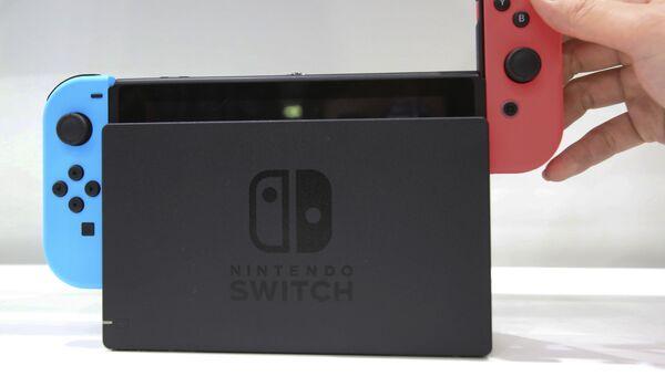 Nintendo Switch. Архивное фото