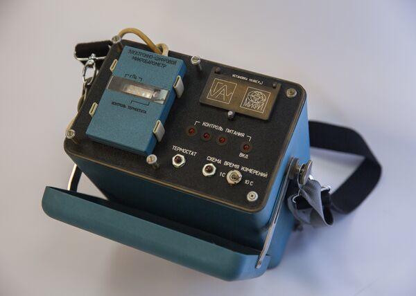 Блок бортовой цифровой вычислительной машины для определения момента сброса атомной бомбы, 1957 год