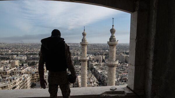 В Алеппо. Архивное фото