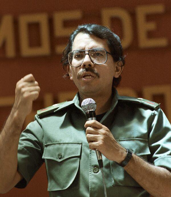 Президент Республики Никарагуа Даниэль Ортега. Архив