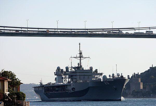 В Грузию прибывают Ричард Чейни и плавучий штаб шестого флота США