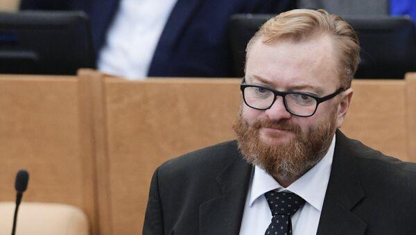 Член комитета Государственной Думы РФ по международным делам Виталий Милонов. Архивное фото