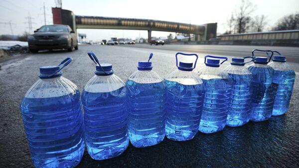 Продажа незамерзающей жидкости для автомобилей на МКАДе в Москве