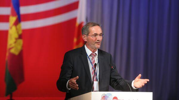Президент Международной ассоциации Породненные города Маттиас Платцек