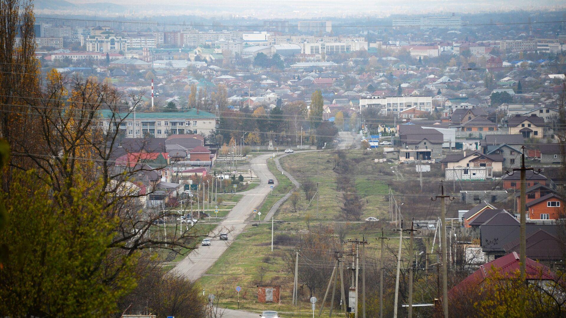 Вид на город Майкоп - РИА Новости, 1920, 28.10.2020