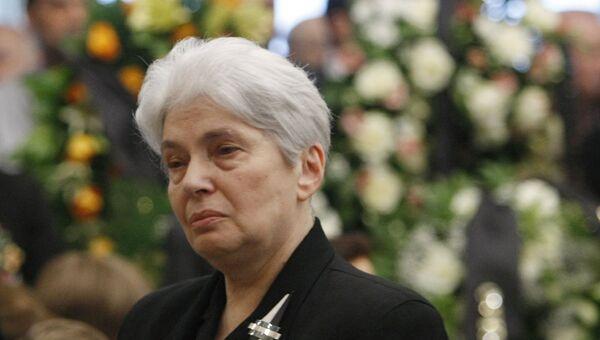 Вдова писателя Александра Солженицына Наталья. Архивное фото