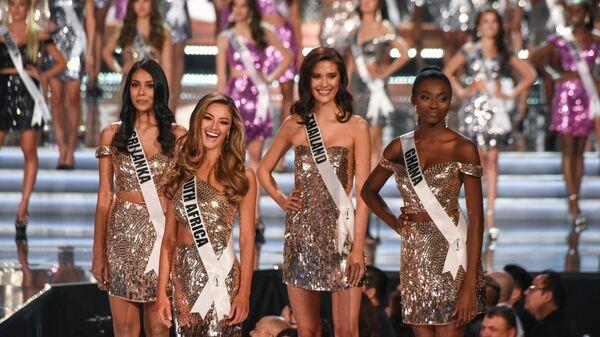 Участницы конкурса красоты Мисс Вселенная