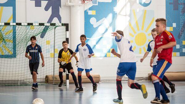 Стартовал Всероссийский турнир по мини-футболу для детей из детских домов