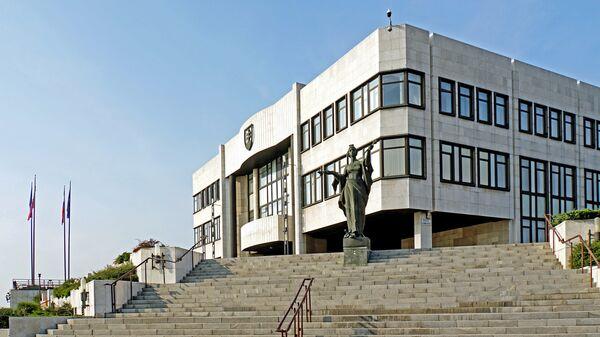 Здание Национального совета Словацкой Республики