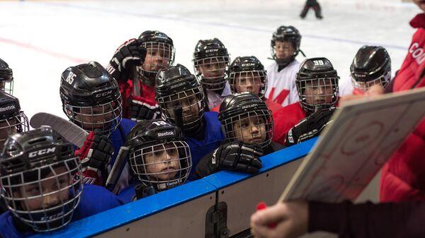 Международный турнир детских хоккейных команд КХЛ Кубок Газпром Нефти в Омске