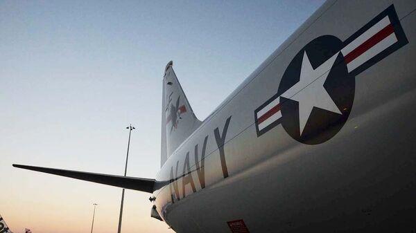 Американский самолет P-8A Poseidon