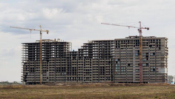 Жилищное строительство в Краснодаре. Архивное фото