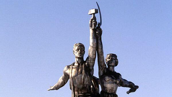 Обновленные Рабочий и колхозница простоит несколько веков - Ресин