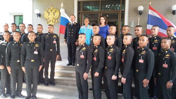 Принцесса Таиланда Маха Чакри Сириндон во время визита в посольство РФ. 29 ноября 2017