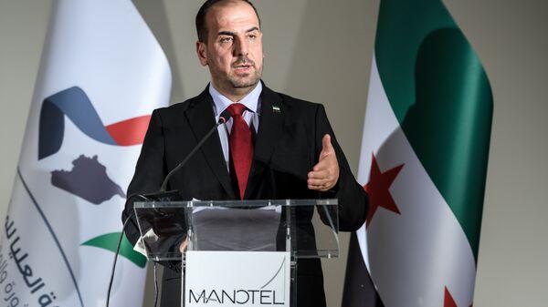 Глава Сирийской оппозиционной партии Наср аль-Харири