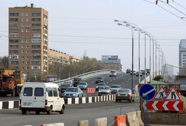Транспортная эстакада на пересечении Ленинградского и Головинского шоссе
