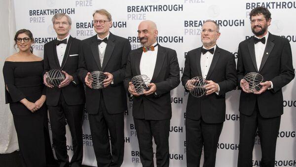 Победители в номинации Фундаментальная физика на 6-й ежегодной церемонии вручения премии Breakthrough Prize
