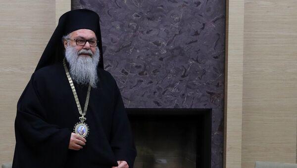 Патриарх Антиохийский и всего Востока Иоанн X. 4 декабря 2017