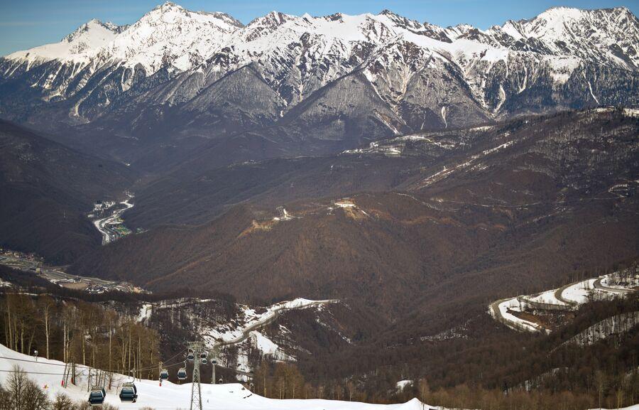 Роза Хутор – единственный курорт, где можно заниматься всеми горными видами спорта, летними и зимними