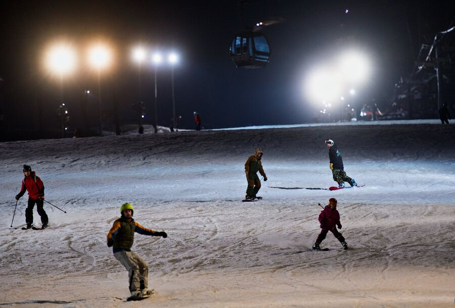 В новом зимнем сезоне зона вечернего катания увеличится в 2 раза
