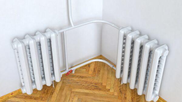 Радиатор отопления в квартире. Архивное фото