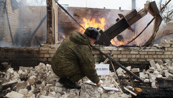 Агрессоры обстреливают территорию ЛНР