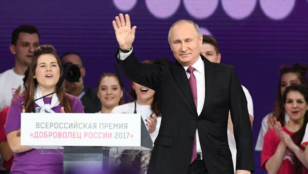 Президент Владимир Путин. Архивное фото