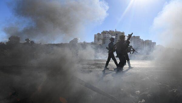 Полицейские в Палестине. Архивное фото