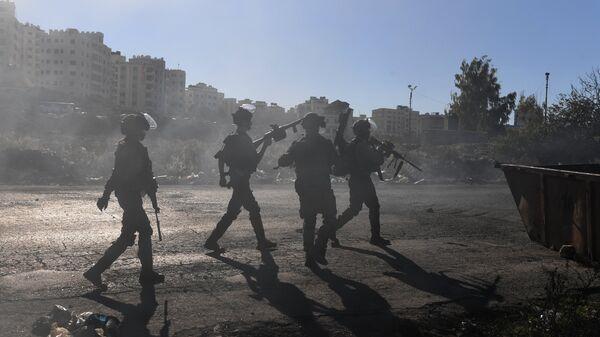 Сотрудники правоохранительных органов Израиля. 9 декабря 2017