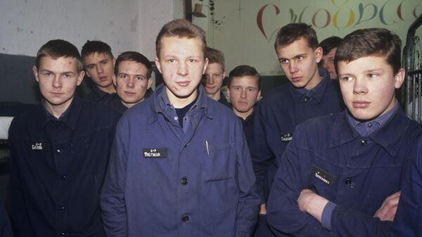 Воспитанники Грязовецкой воспитательно-трудовой колонии усиленного режима