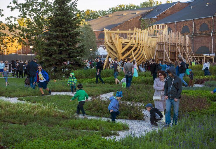 Открытие культурного пространства Новая Голландия в Санкт-Петербурге