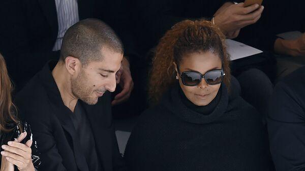 Джанет Джексон и Виссам Аль Мана. Архивное фото
