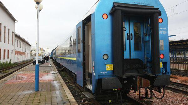 Поезд на Украине