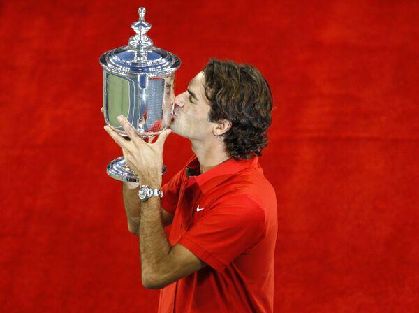 Роджер Федерер победил на US Open-2008