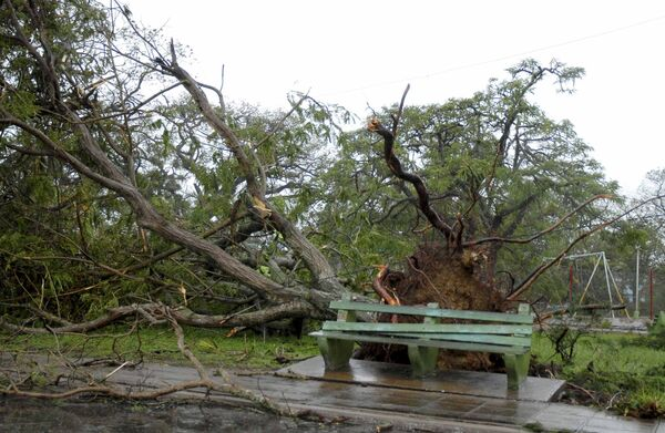 Ураган Айк на Кубе