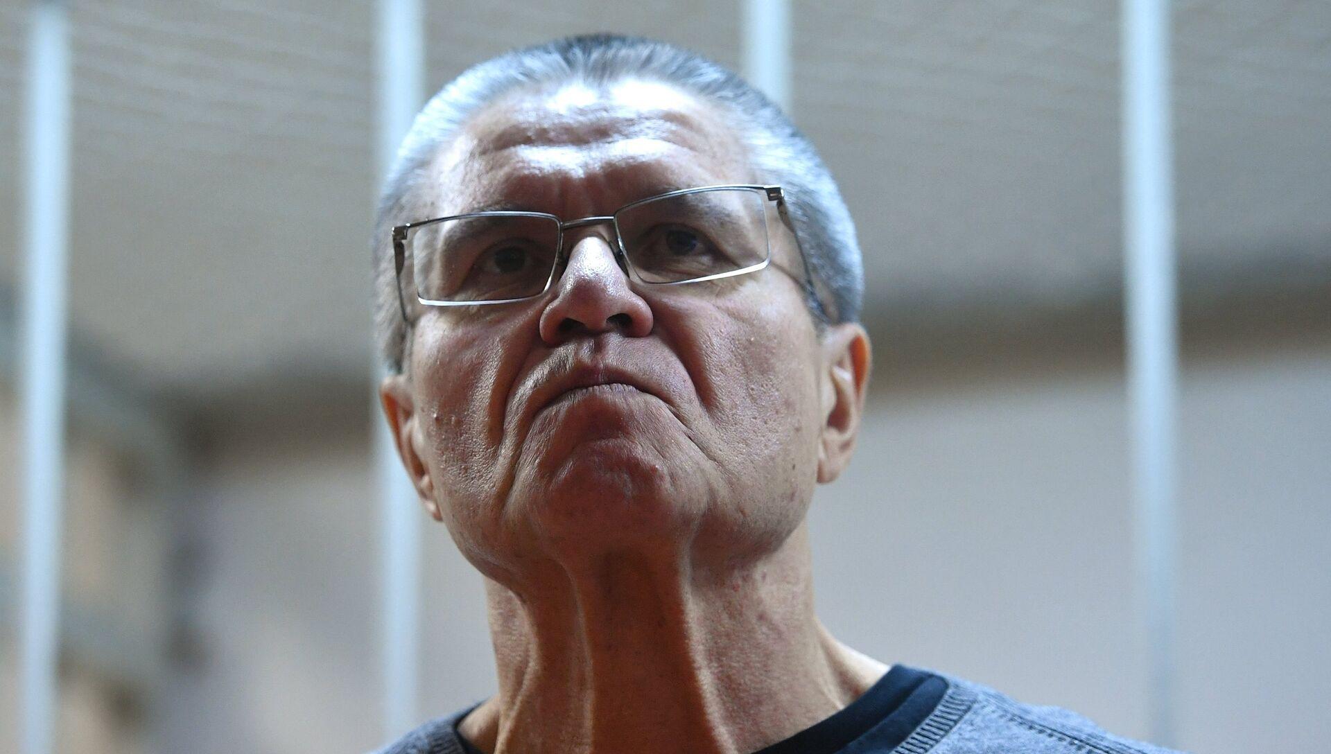 Алексей Улюкаев во время оглашения приговора в Замоскворецком суде - РИА Новости, 1920, 01.12.2020