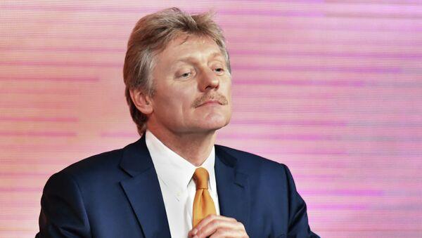 Заместитель руководителя администрации президента РФ – пресс-секретарь президента РФ Дмитрий Песков. 14 декабря 2017
