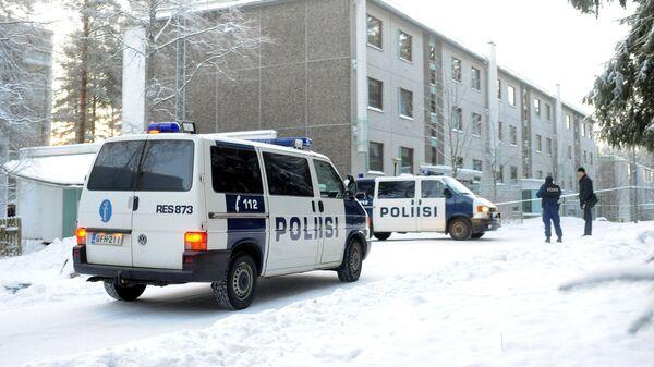 Автомобили полиции Финляндии
