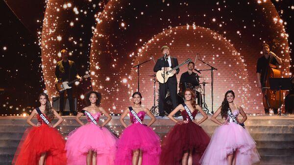 На конкурсе красоты Мисс Франция-2018 в Шатору, Франция. Архивное фото.