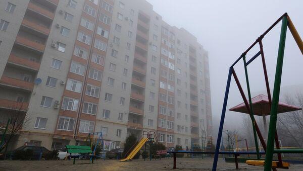 Ситуация около жилого дома в Ставрополе, где произошел взрыв гранаты. 20 декабря 2017