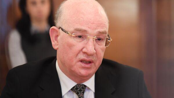 Комиссар Африканского союза по вопросам мира и безопасности Смаил Шерги