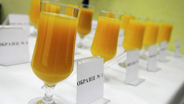 Апельсиновый сок. Архивное фото
