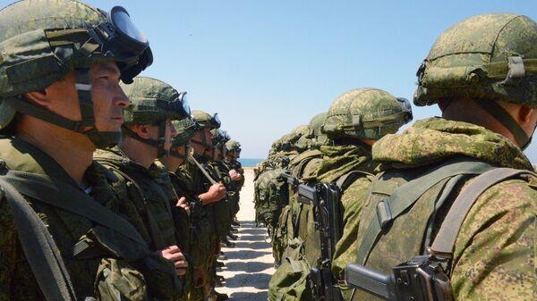 Российские военные в Тартусе
