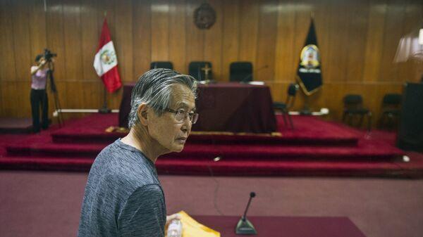 Бывший президент Перу Альберто Фухимори