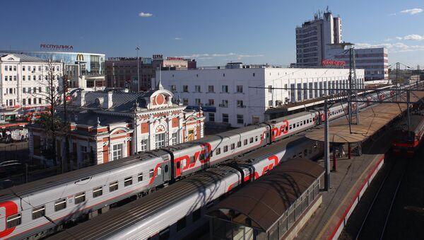Железнодорожный вокзал Нижнего Новгорода. Архивное фото