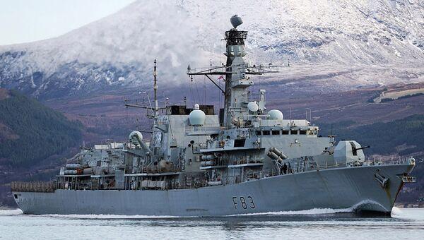 Фрегат St. Albans ВМС Великобритании