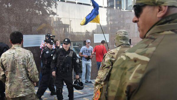 Акция протеста радикалов в Одессе. Архивное фото
