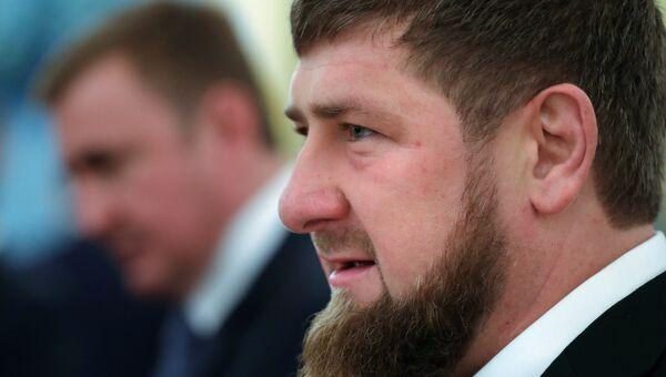 лава Чеченской Республики Рамзан Кадыров. Архивное фото
