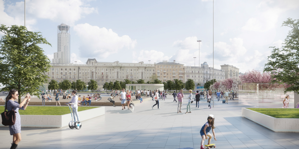 От позора к благоустройству: какой станет Павелецкая площадь в Москве