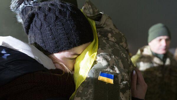 Украинский военнопленный. Архивное фото